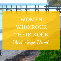 inspiring island women Ange Dovel North Abaco Potcake Rescue rock on