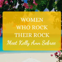 Women Who Rock Their Rock Kelly Ann Sebree Andros Island Bahamas