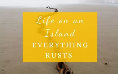 Life On an Island: Everything Rusts